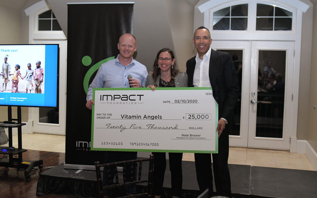 Impact Foundation Donates $25,000 to Vitamin Angels